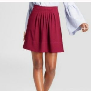 A New Day High Waisted pleated skirt